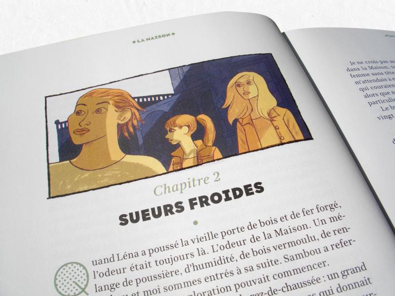 Je Bouquine-Magazine-Illustration Roman-Chapitre 2