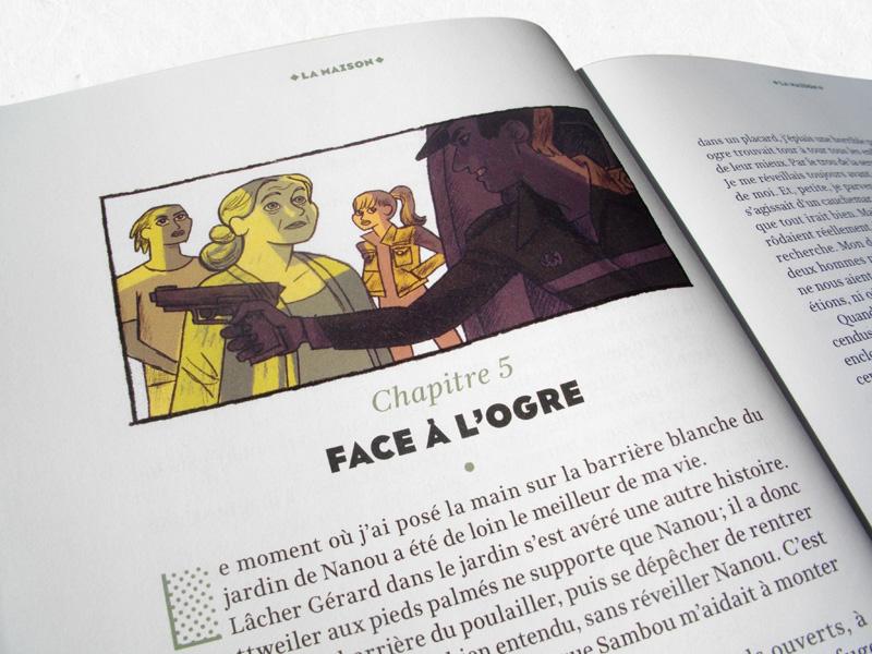 Je bouquine Illustration Ados Magazine La Maison Petronille