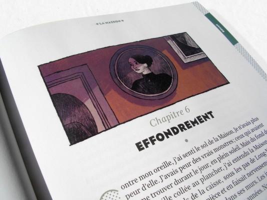 """Illustrations presse jeunesse pour le roman """"la maison"""" de Pétronille paru dans le magazine Je Bouquine chez Bayard."""