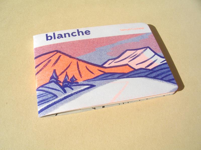 Blanche MiniComics RadioAsPaper