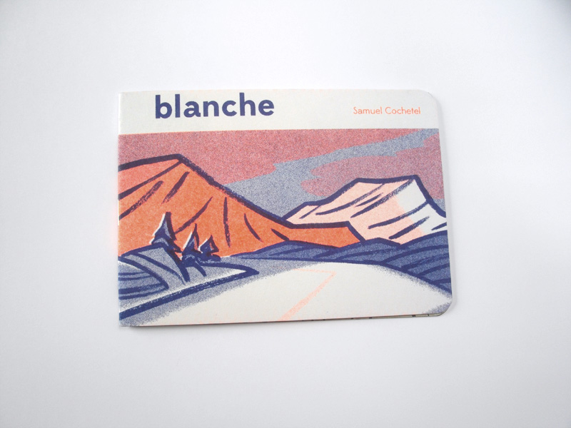 Blanche BD Minicomics Radio As Paper Collection