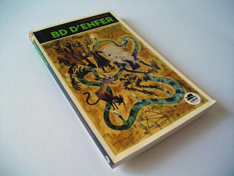 """Couverture du roman """"BD d'enfer"""", une histoire de Viviane Faudi-Khourdifi aux éditions Oskar ."""